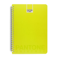 Pantone: Spiral Notebook A5 Ruled - Sulphur Spring