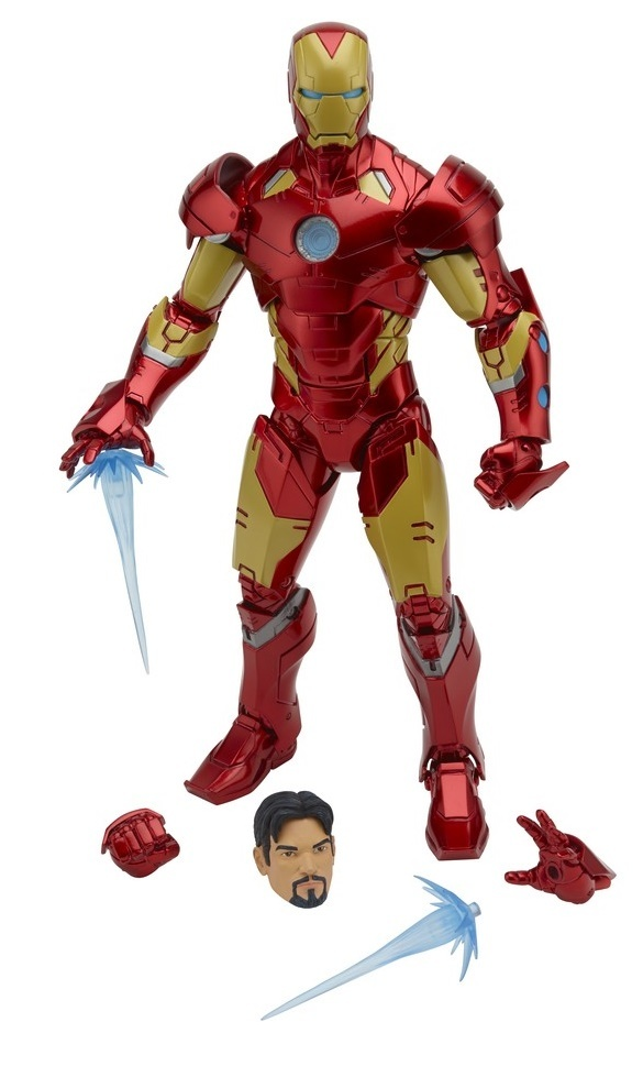 "Marvel Legends: 12"" Iron Man - Action Figure image"