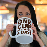 BigMouth Inc: One Cup of Coffee Giant Mug