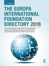 The Europa International Foundation Directory 2018