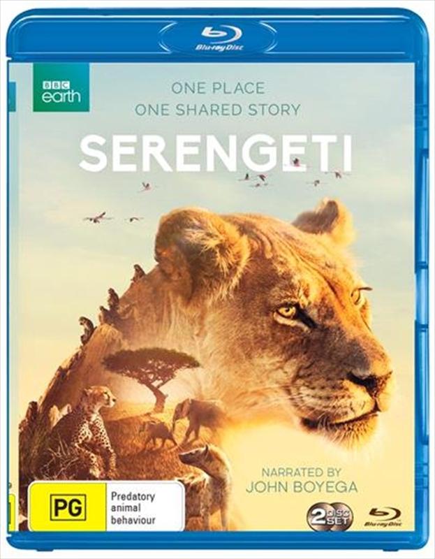 Serengeti on Blu-ray