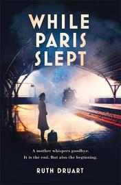 While Paris Slept: A mother in wartime Paris. A heartwrenching choice. A remarkable story. by Ruth Druart