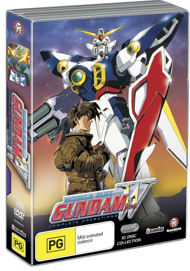 Mobile Suit Gundam Wing - Complete Operations Box Set on DVD image