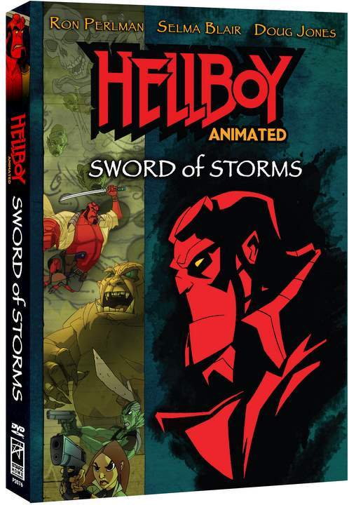 Hellboy Animated - Sword Of Storms on DVD
