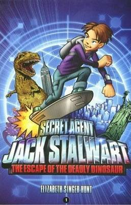 Secret Agent Jack Stalwart by Elizabeth Singer Hunt
