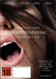 Nymphomaniac: Volume II on DVD