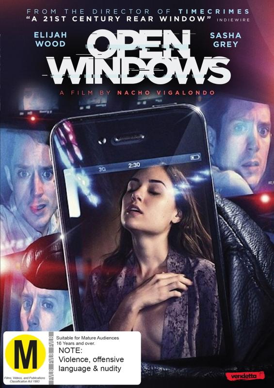 Open Windows on DVD