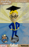 "Fallout 3 Vault Boy Intelligence 5"" Bobble Head"