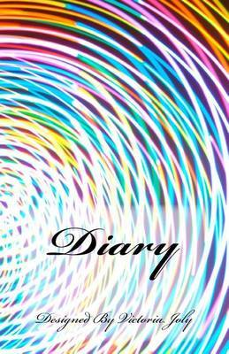 Diary: Diary/Notebook/Journal/Secrets/Present - Original Modern Design 2 by Victoria Joly