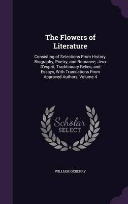 The Flowers of Literature by William Oxberry image