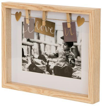 Natural Clip Photo Frame 5x7' (26x21cm)