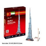 3D Puzzle Large - Burj Khalifa