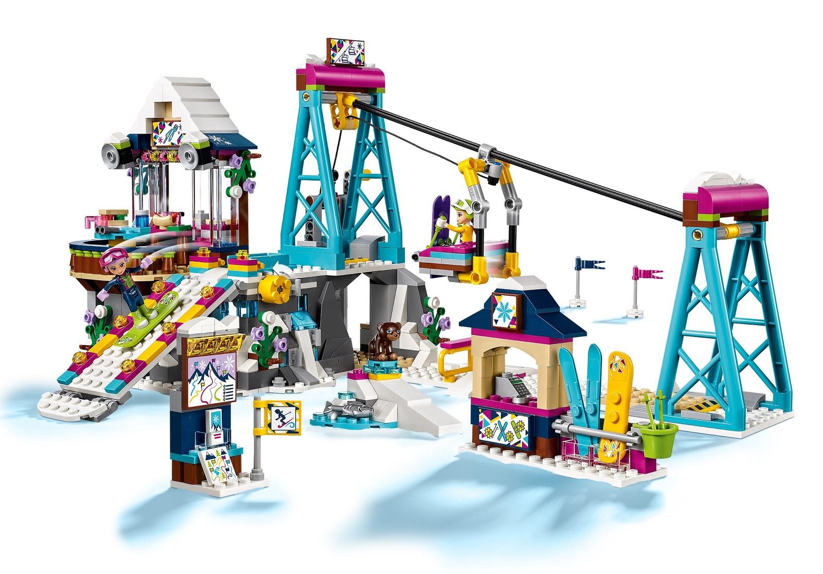 LEGO Friends: Snow Resort Ski Lift (41324) image