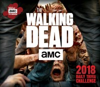 The Walking Dead Daily Trivia Challenge 2018 Boxed Calendar by AMC