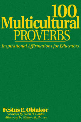 100 Multicultural Proverbs by Festus E Obiakor image