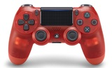 PlayStation 4 Dual Shock 4 V2 Wireless Controller - Red Crystal for PS4