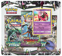 Pokemon TCG: Celestial Storm Three Pack Booster: Tapu Lele