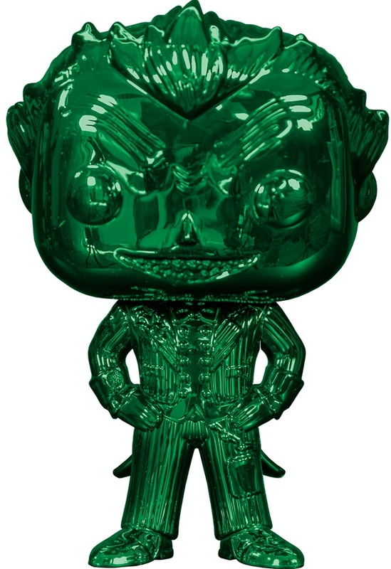 DC Comics: The Joker (Green Chrome) - Pop! Vinyl Figure