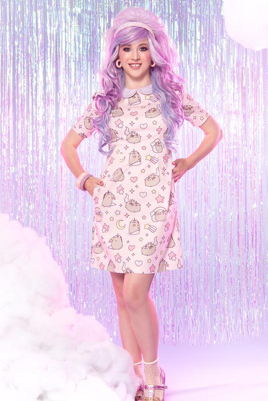 Sarsparilly: Pusheenicorn Mini Dress - M