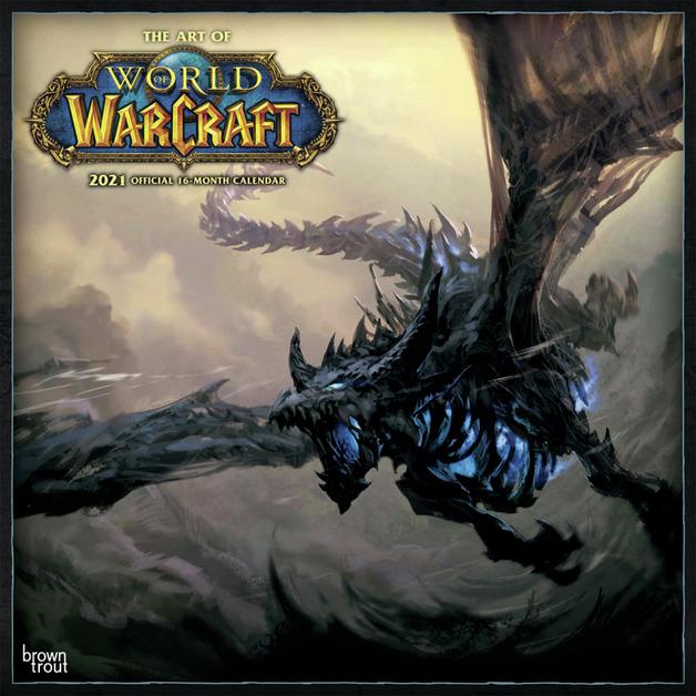World of Warcraft 2021 Square Wall Calendar