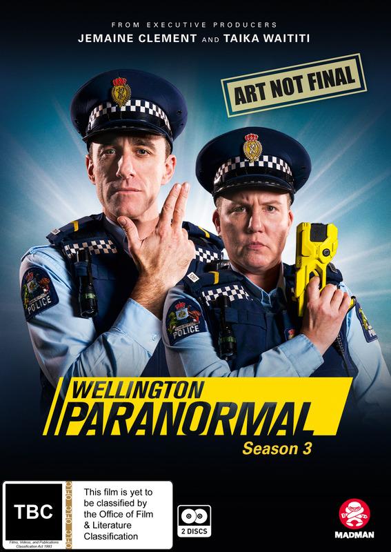 Wellington Paranormal: Season 3 on DVD