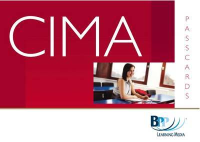 CIMA - P9: Management Accounting: Financial Strategy: Passcards: Strategic paper P9 by BPP Learning Media image