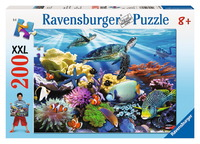 Ravensburger 200 Piece Jigsaw Puzzle - Ocean Turtles