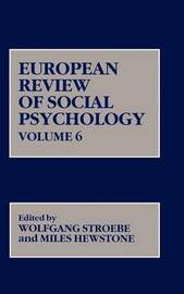 European Review of Social Psychology: v. 6 by Wolfgang Stroebe image