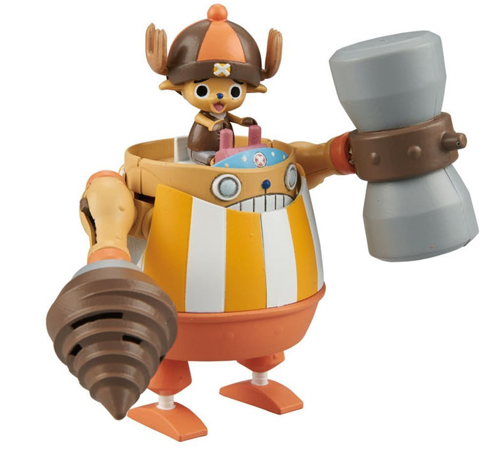 One Piece: Chopper Robo Super No.4 Kung Fu Tracer - Model Kit image