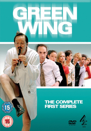 Green Wing - Complete Series 1 (3 Disc Set) on DVD image