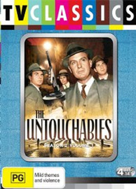 The Untouchables (1959) - Season 2: Volume 1 (4 Disc Set) on DVD