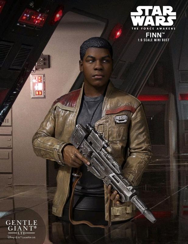Star Wars: Finn (The Force Awakens) - Mini Bust