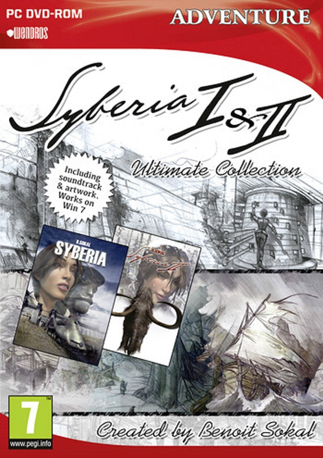 Syberia 1 & 2 Ultimate Collection for PC Games image