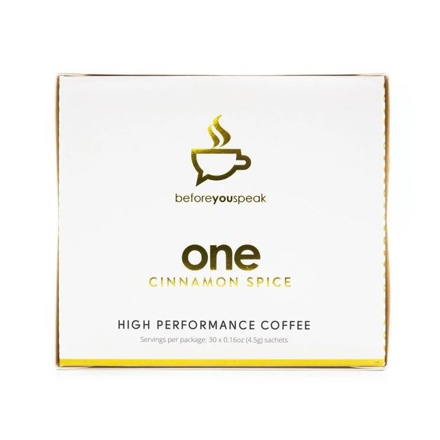 Before You Speak: High Performance Coffee - Cinnamon (30 x 6.5g)
