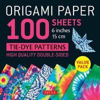 Origami Paper 100 Sheets Tie-Dye Patterns 6o (15 CM)