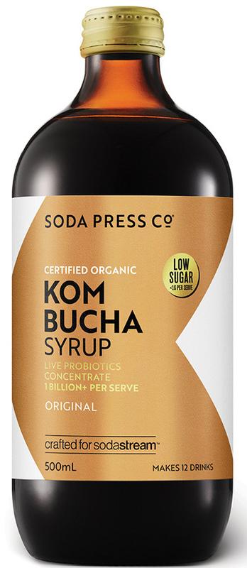 Soda Press Organic Kombucha - 500ml