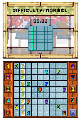 Zendoku for Nintendo DS image