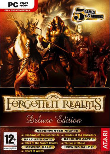 Forgotten Realms Deluxe Edition (5 games + 5 add ons!) for PC Games