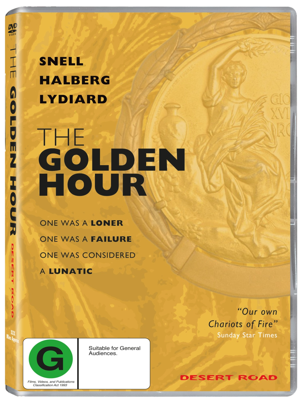 The Golden Hour on DVD image