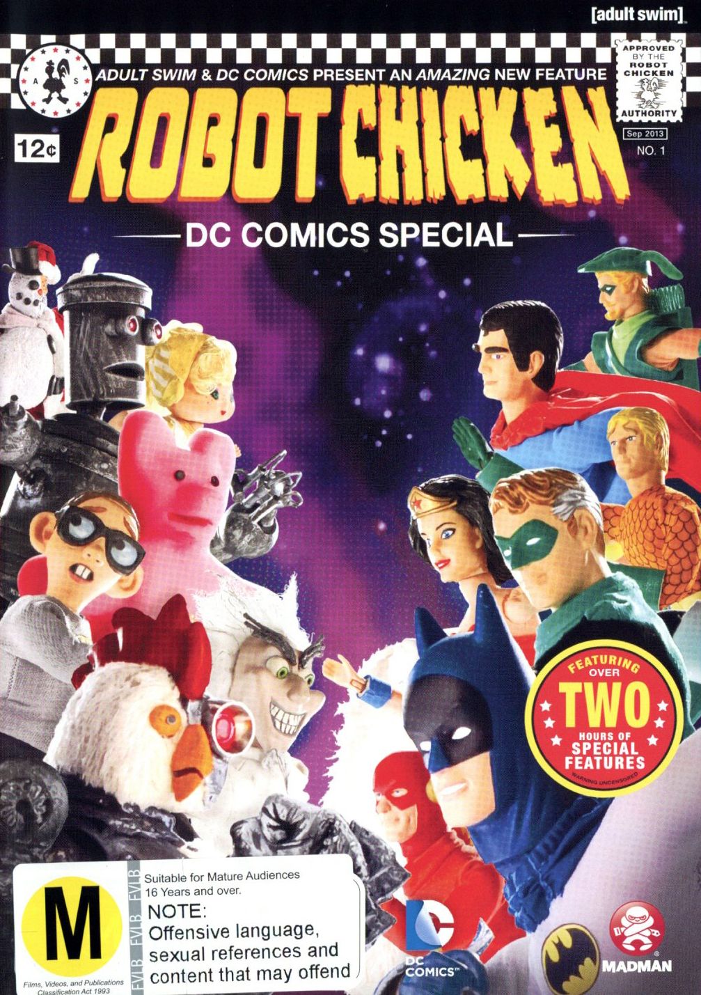 Robot Chicken: DC Comics Special on DVD image