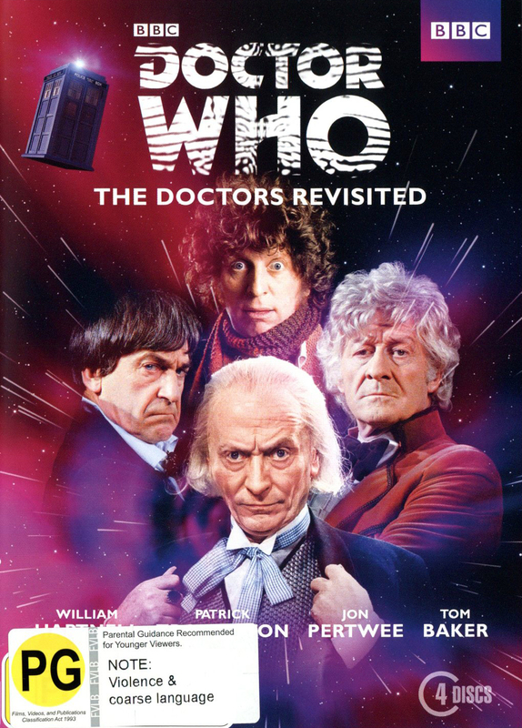 Doctor Who: The Doctors Revisited (1st to 4th) DVD