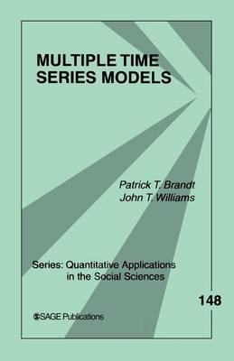 Multiple Time Series Models by Patrick T. Brandt image