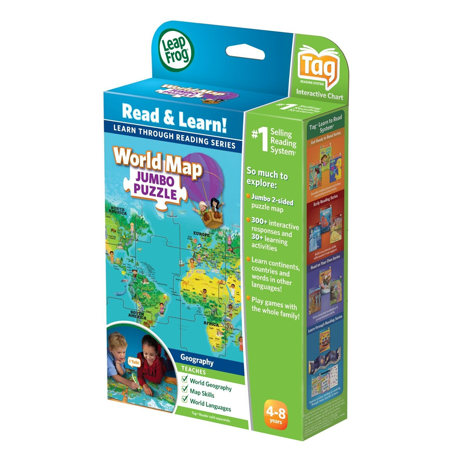 Leapfrog leapreader discovery set world map jumbo puzzle toy leapfrog leapreader discovery set world map jumbo puzzle works with tag image gumiabroncs Gallery