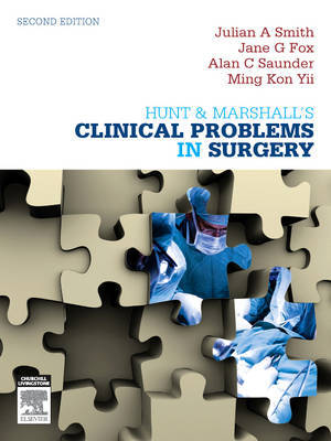 Hunt & Marshall's Clinical Problems in Surgery by Julian A Smith image