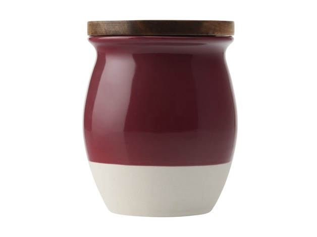 Maxwell & Williams - Artisan Dipped Canister Pomegranate (1L)