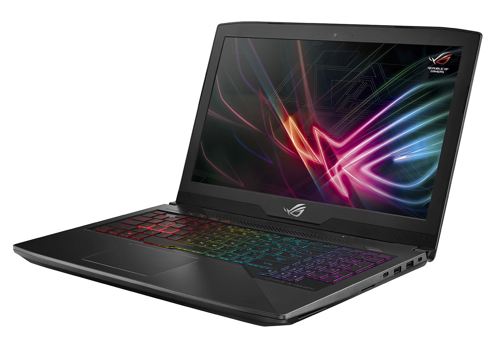 ASUS ROG Strix GL503VM-GZ159T Gaming Laptop Intel i7-7700HQ, Nvidia GTX 1060, 8GB RAM, 256GB M.2 SSD, 1TB HDD, Windows 10 image