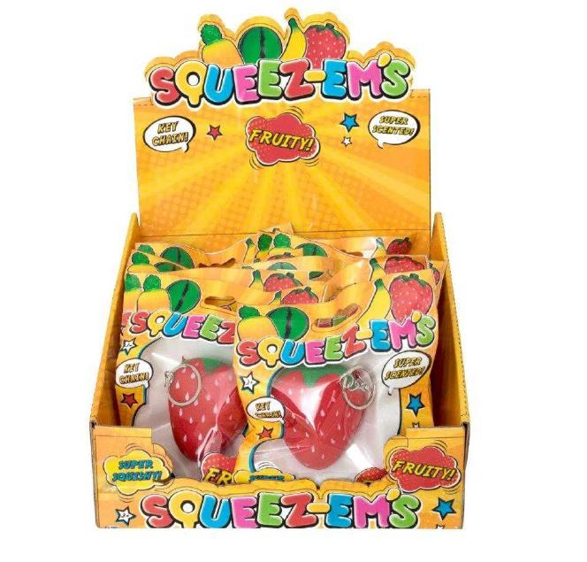 Squeez-em's - Scented Strawberry (Small) image
