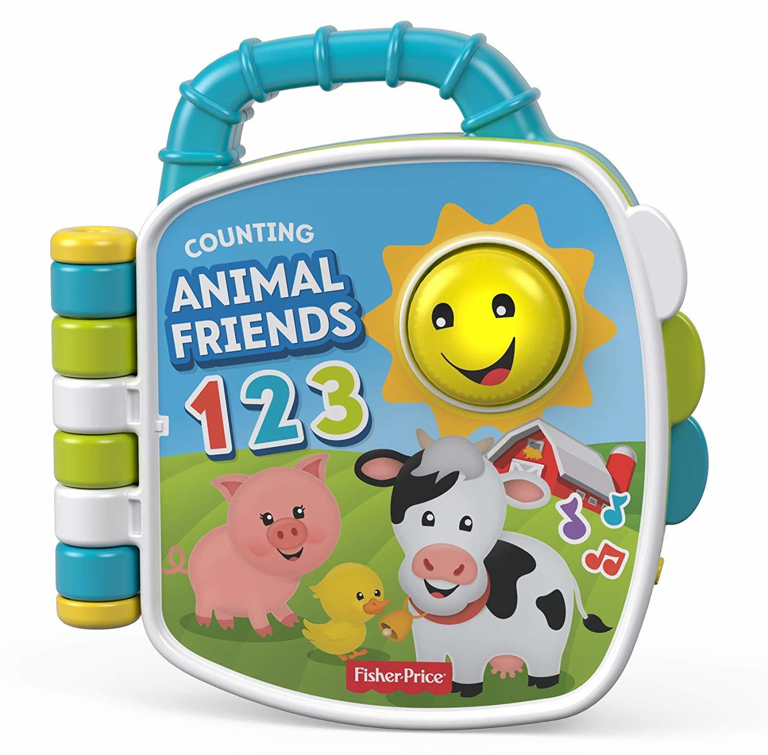 Fisher-Price: Laugh & Learn Book - Counting Animal Friends image