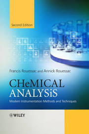 Chemical Analysis by Francis Rouessac image
