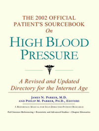 The 2002 Official Patient's Sourcebook on High Blood Pressure image